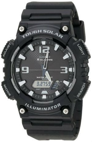 Casio Mens Solar Sport Combination Watch