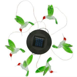 Color Changing Led Solar Mobile Wind Chime