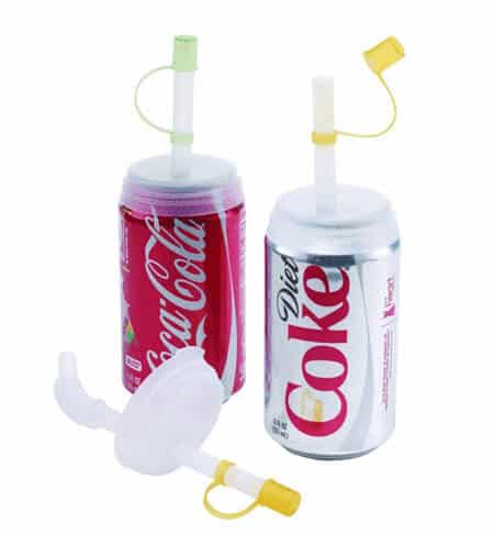 Soda Can Straw And Lid 5