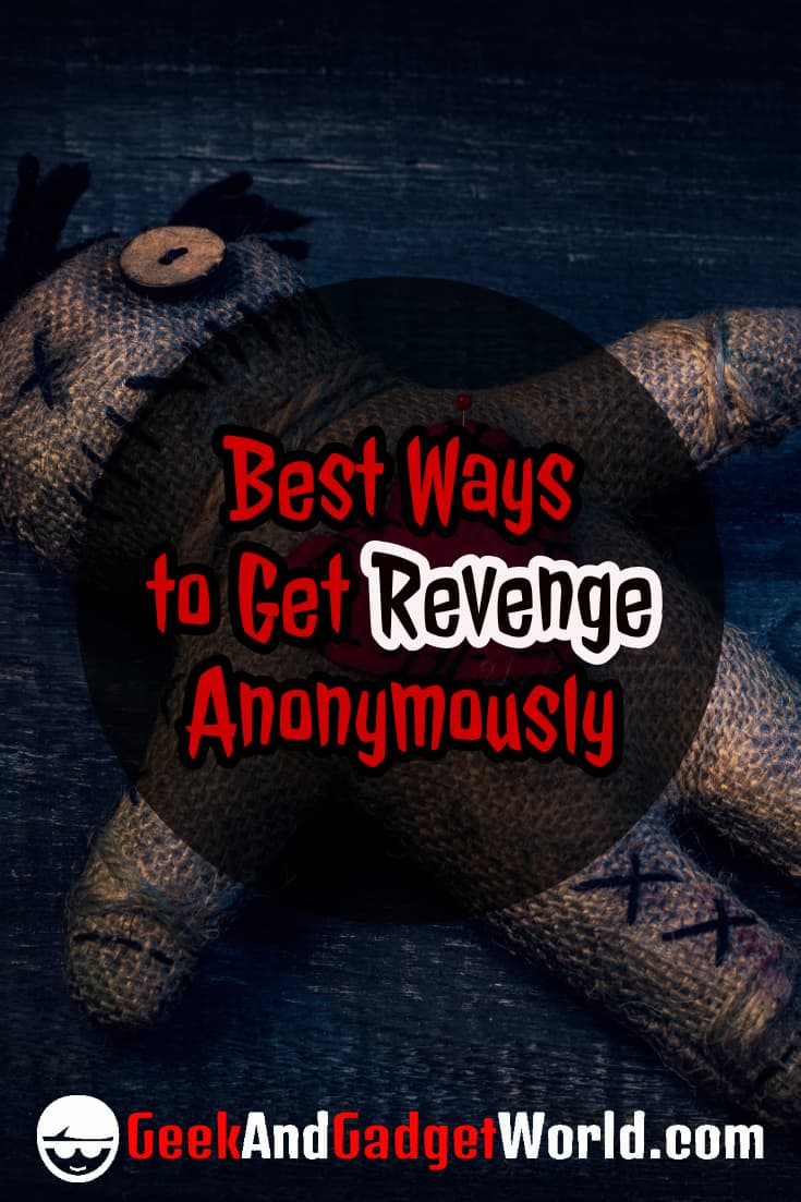 Anonymous revenge ideas
