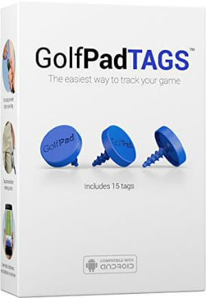 GolfPad TAGS Real Time Golf Tracking And Game Analysis System