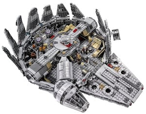LEGO Star Wars Millennium Falcon 75105 Building Kit 2