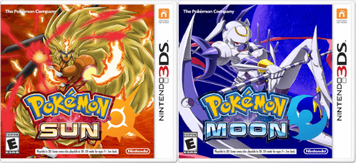 Pokemon Sun And Moon Covers