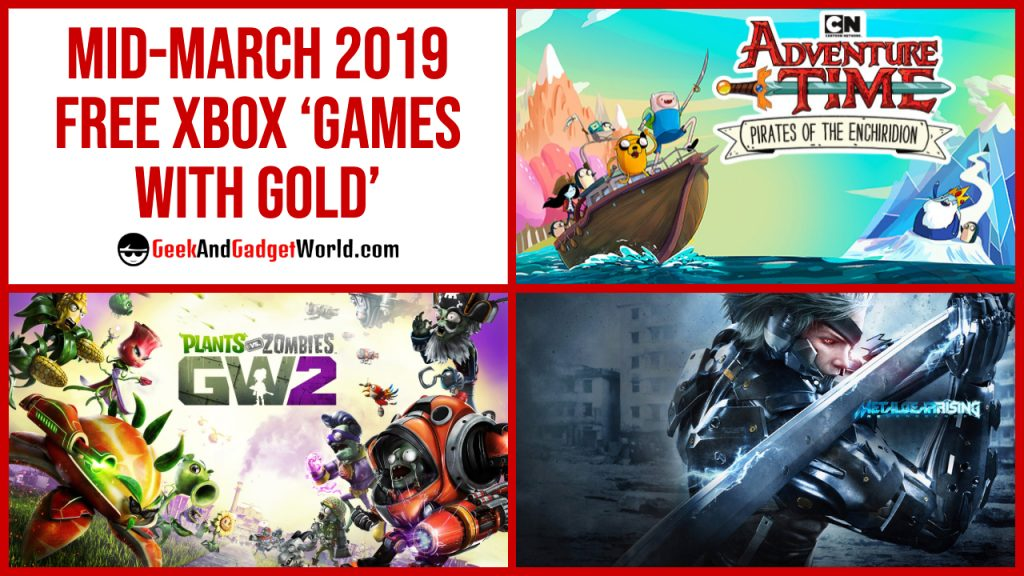 Mid March 2019 Free Xbox Games With Gold Featured